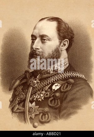 Albert Edward, 1841 - 1910. Prince of Wales, future King Edward VII of Great Britain and Ireland 1901 - 1910. - Stock Photo