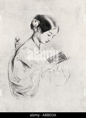 Florence Nightingale, 1820 -1910.   English statistician, pioneer of nursing and a reformer of hospital sanitation - Stock Photo