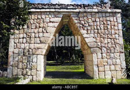 Chichen Itza in the yucatan was a Maya city and one of the greatest religious center and remains today one of the - Stock Photo