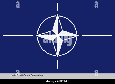 North Atlantic Treaty Organization - Stock Photo