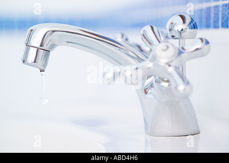 Dripping tap - Stock Photo