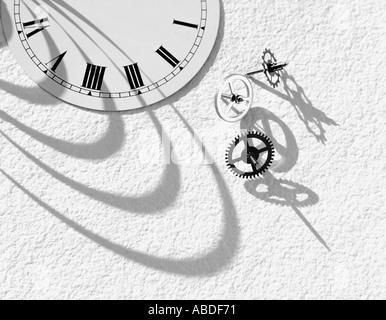 A broken watch - Stock Photo