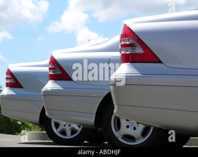 New Mercedes - Stock Photo