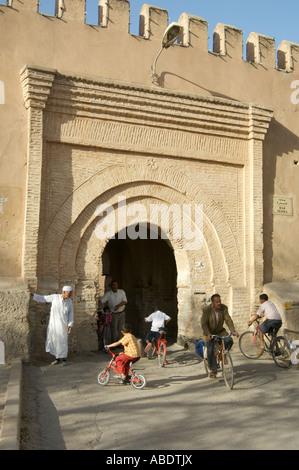 gate Taroudant, Morocco - Stock Photo