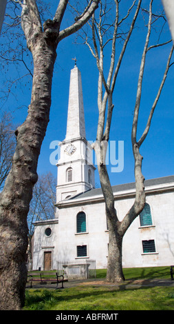 Saint Lukes church Old Street London UK - Stock Photo