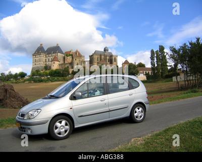 Chateau de Biron Perigord region France - Stock Photo
