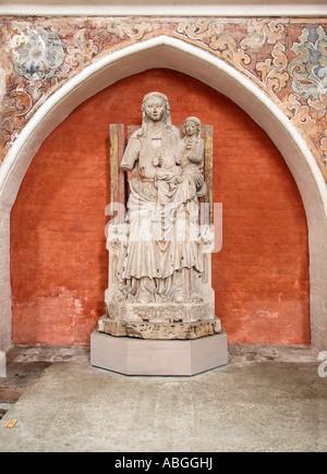 The Virgin and Child with St. Anne, St. Nicholas church, Stralsund, Mecklenburg-Western Pomerania, Germany