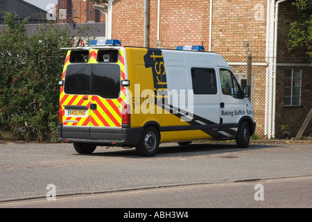 A police operated camera van in UK - Stock Photo