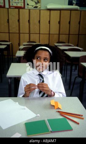 Naughtiest girl in school - Stock Photo