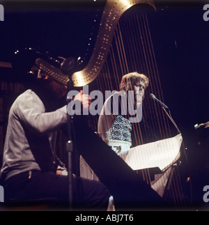 Harry Nilsson sings on the album 'A Little Touch Of Schmillson In The Night' his best ever record. - Stock Photo