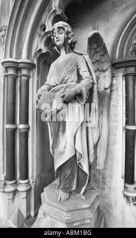Brompton Cemetery, London, UK - Stock Photo