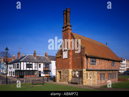 The Moot House Alderburgh Suffolk on the Eastern English coast shot on large format