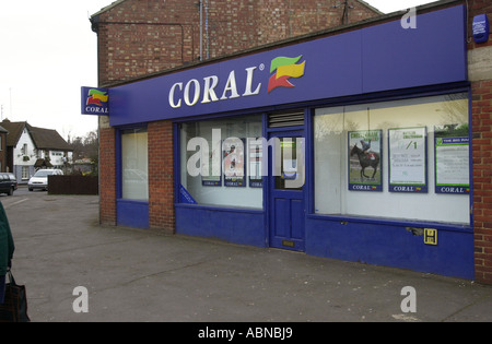 Coral Book Makers UK - Stock Photo