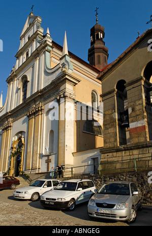 historic old town of Przemysl Poland - Stock Photo