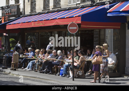 Le Bonaparte Cafe In St Germain Des Pres Paris France