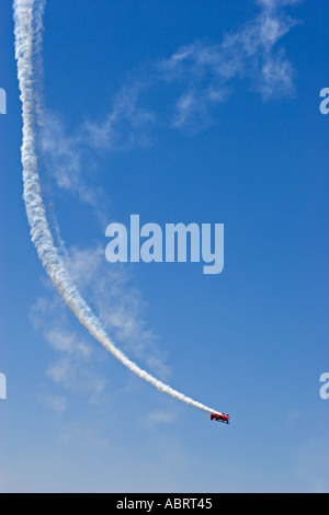 Oracle Challenger in Air Show - Stock Photo