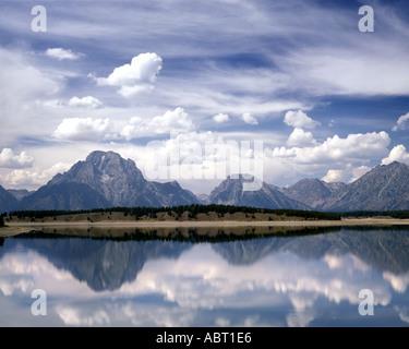 USA - WYOMING: Grand Tetons National Park - Stock Photo