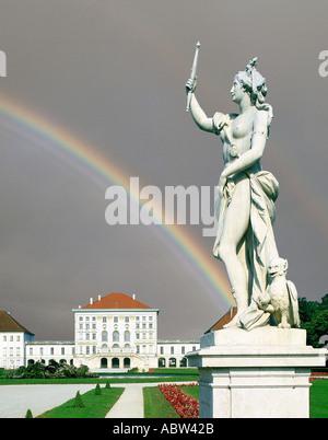DE - BAVARIA: Nymphenburg Palace, Munich - Stock Photo