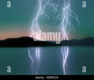 GB - OUTER HEBRIDES: Sound of Taransay - Stock Photo