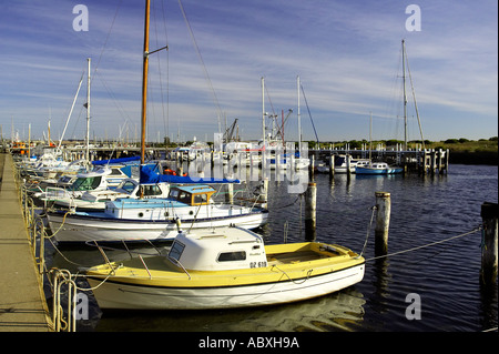 Marina Queenscliffe Port Phillip Bay Victoria Australia - Stock Photo