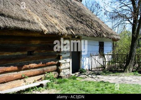 Zagroda Guciow open air museum, Poland - Stock Photo