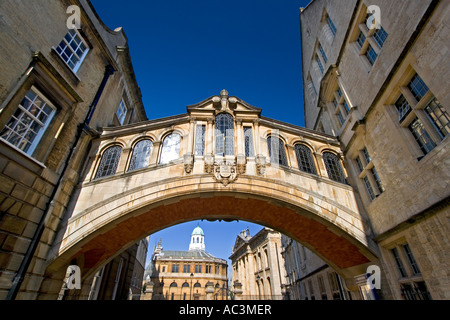 The Bridge of Sighs and Sheldonian Oxford 4 - Stock Photo