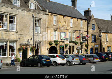 Stow on the Wold a Cotswold market town in Gloucestershire England UK Highest town in The Cotswolds and lies on - Stock Photo