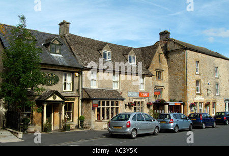 Stow on the Wold a Cotswold market town in Gloucestershire England UK - Stock Photo