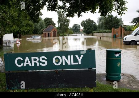 Abbey Car Park Tewkesbury