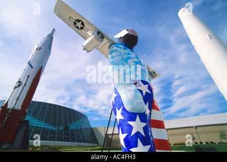Strategic Air and Space Museum near Lincoln, Nebraska. - Stock Photo