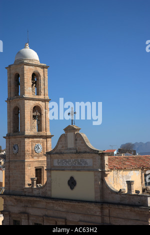 Greeece Western Crete The Cathedral Church of Chania Church of the Trimaryri - Stock Photo