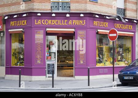 paris france french chocolatier shop maison georges larnicol stock photo royalty free image. Black Bedroom Furniture Sets. Home Design Ideas