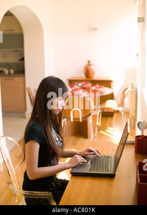 working from home - Stock Photo