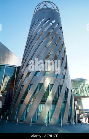 Lowry Salford Quays Greater Manchester Lancashire North west UK GB Europe - Stock Photo