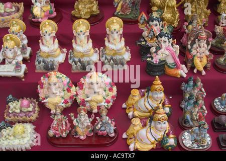 hindu god figurines - Stock Photo