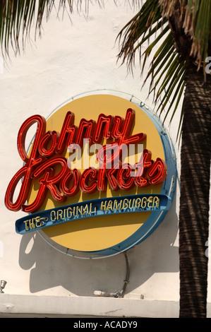 Johnny Rockets Miami Beach Florida