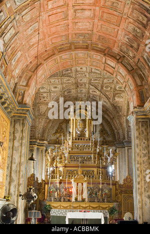 Interiors of a cathedral, Se Cathedral, Old Goa, Goa, India - Stock Photo