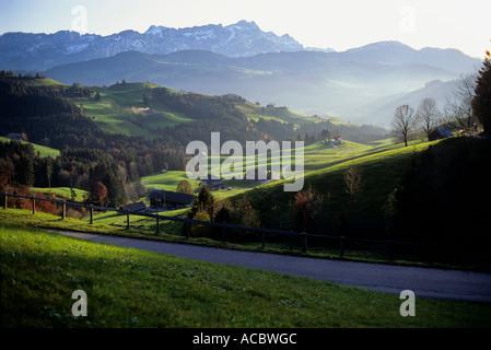 Switzerland Canton of Appenzell Ausserrhoden Mountain Station