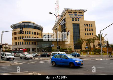 Israel Tel aviv The Tel Aviv district police head quarters - Stock Photo