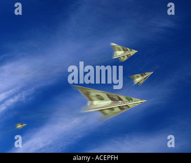 FINANCIAL CONCEPT:  Holiday Money - Stock Photo