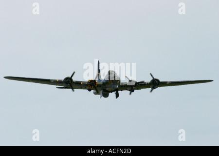 B17G Flying Fortress Sally B Waddington Air Show 2005 - Stock Photo
