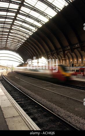 York Railway Station, UK (5) - Stock Photo