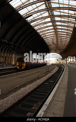 York Railway Station, UK (6) - Stock Photo