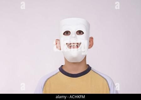 Smile Mask - Stock Photo