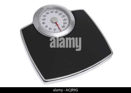 Scale cut out on white background - Stock Photo