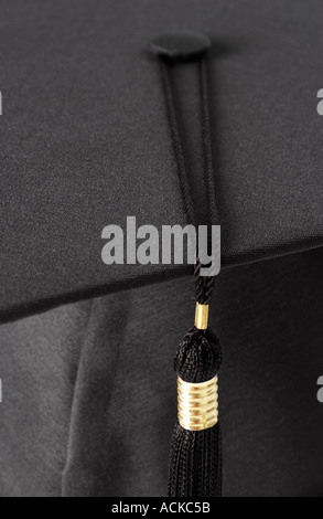 Close up of graduation cap - Stock Photo
