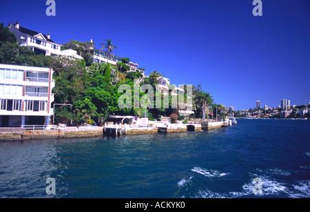 Sydney Harbour, New South Wales, Australia. - Stock Photo