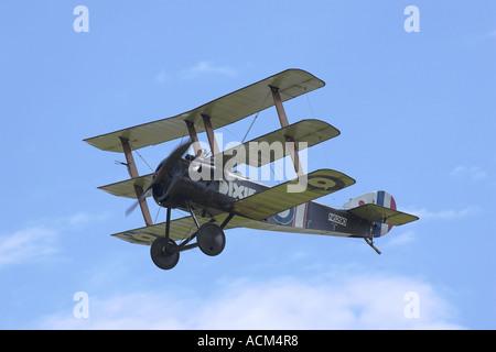 Sopwith Triplane 1916 RFC fighter - Stock Photo