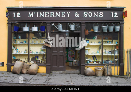 McInerney and Sons a 19th Century Hardware Store Ironmonger Bunratty Folk Park Co Clare Ireland - Stock Photo