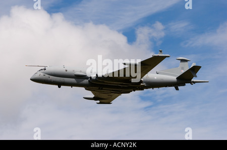 ZJ518 BAE Systems Nimrod MRA4 Maritime Reconnaissance and Attack Mk4 Aircraft at RAF Fairford - Stock Photo